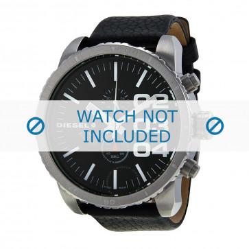 Cinturino per orologio Diesel DZ4208 Pelle Nero 26mm