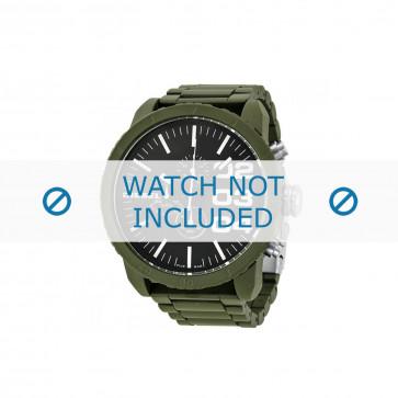 Diesel cinturino dell'orologio DZ4251 Alluminio Verde oliva 26mm
