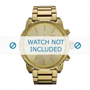 Diesel cinturino dell'orologio DZ4268 Acciaio inossidabile Oro 26mm