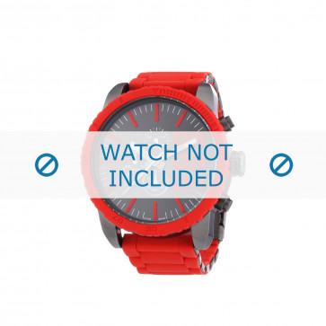 Diesel cinturino dell'orologio DZ4289 Metallo Rosso 26mm