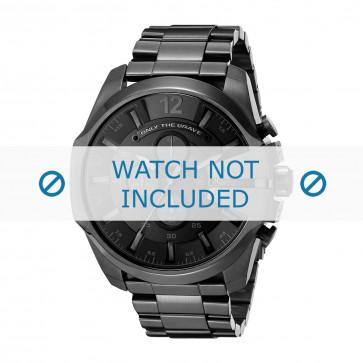Cinturino per orologio Diesel DZ4355 Acciaio Nero 26mm