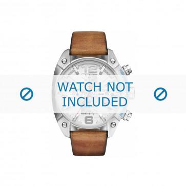 Cinturino per orologio Diesel DZ4380 Pelle Marrone 24mm
