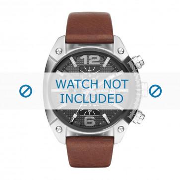 Cinturino per orologio Diesel DZ4381 Pelle Marrone 24mm