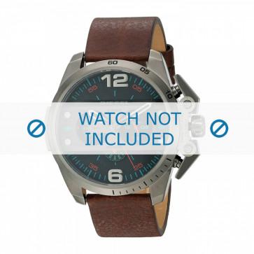 Cinturino per orologio Diesel DZ4387 Pelle Marrone 24mm