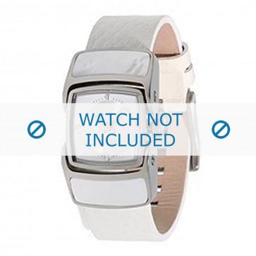 Diesel cinturino orologio DZ5039 Pelle Bianco 16mm
