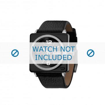 Diesel cinturino dell'orologio DZ5186 Pelle Nero 26mm