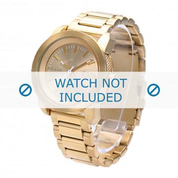 Diesel cinturino dell'orologio DZ5234 Acciaio inossidabile Oro 20mm