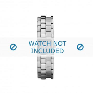 Diesel cinturino dell'orologio DZ5244 Metallo Argento 16mm