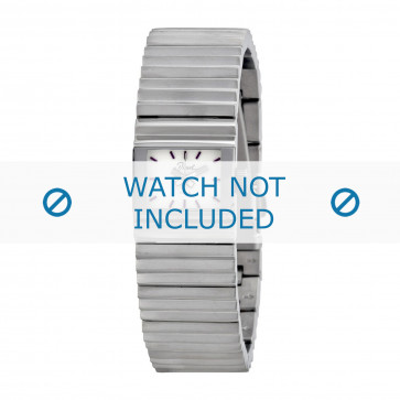 Diesel cinturino dell'orologio DZ5267 Acciaio inossidabile Argento 20mm