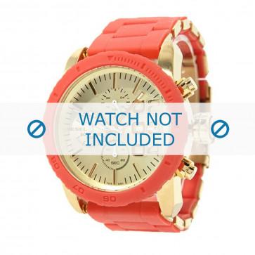 Diesel cinturino dell'orologio DZ5305 Acciaio inossidabile Arancione 22mm