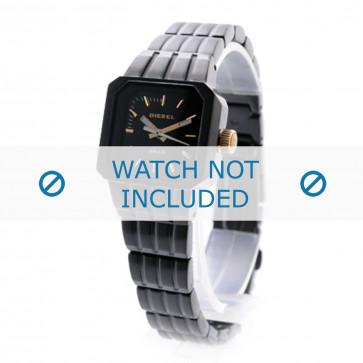 Diesel cinturino dell'orologio DZ5315 Acciaio inossidabile Nero 12mm