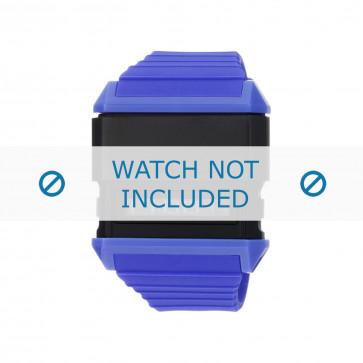 Diesel cinturino dell'orologio DZ7199 Silicone Viola 30mm
