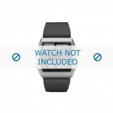 Diesel cinturino dell'orologio DZ7203 Pelle Nero 30mm