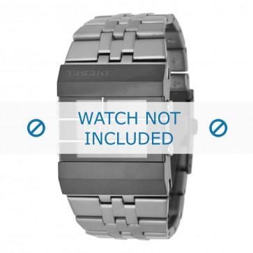 Diesel cinturino dell'orologio DZ7227 Acciaio inossidabile Grigio 36mm