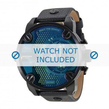 Cinturino per orologio Diesel DZ7257 Pelle Nero 24mm