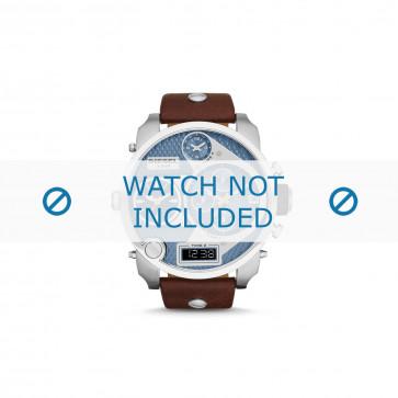 Diesel cinturino dell'orologio DZ7322 Pelle Marrone 24mm