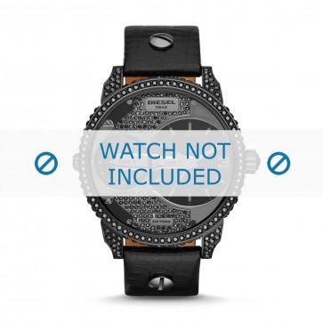 Cinturino per orologio Diesel DZ7328 Pelle Nero 22mm