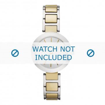 DKNY cinturino dell'orologio NY8747 Acciaio inossidabile Oro 28mm