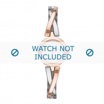 DKNY cinturino dell'orologio NY2172 Metallo Salito 6mm