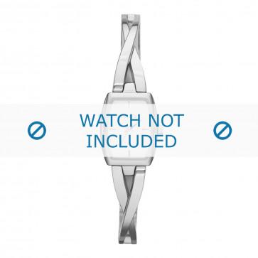 DKNY cinturino dell'orologio NY2234 Metallo Argento