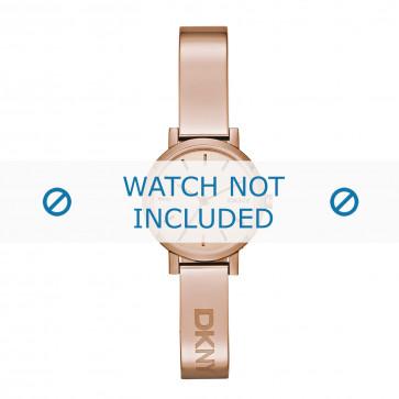 DKNY cinturino dell'orologio NY2308 Metallo Salito 10mm