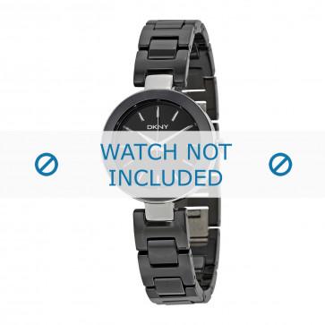 DKNY cinturino dell'orologio NY2355 Ceramica Nero 12mm