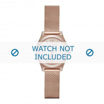 DKNY cinturino dell'orologio NY2489 Metallo Salito 8mm