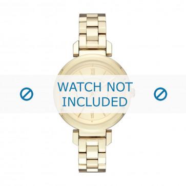 DKNY cinturino dell'orologio NY2583 Metallo Oro
