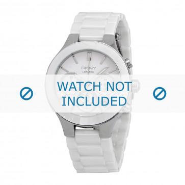 DKNY cinturino dell'orologio NY4912 Ceramica Bianco