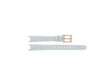 Cinturino per orologio DKNY NY8784 Pelle Bianco 8mm