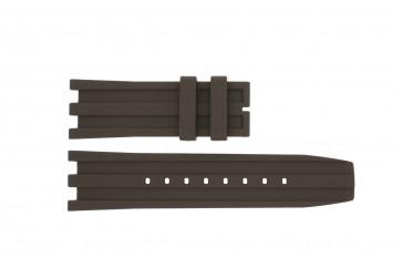 Dolce & Gabbana cinturino dell'orologio DW0764 / F360006010 Gomma Marrone
