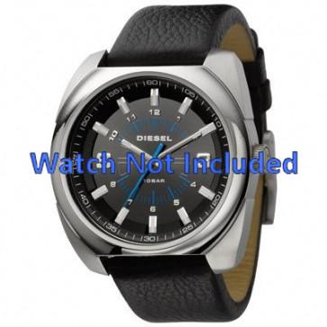 Cinturino per orologio Diesel DZ1247 Pelle Nero 26mm