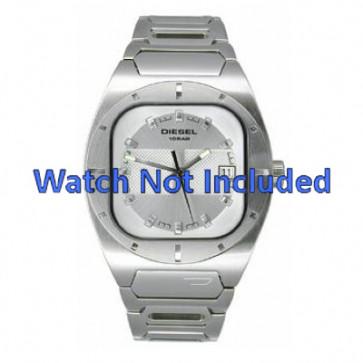 Diesel cinturino dell'orologio DZ4116 Metallo Bianco 19mm