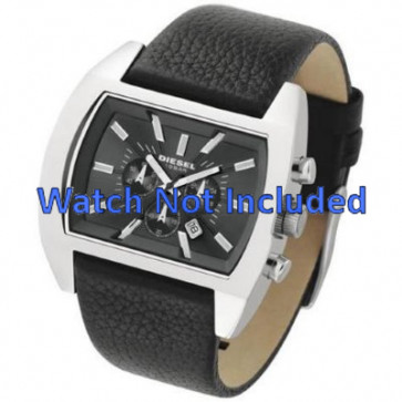 Diesel cinturino dell'orologio DZ4140 Pelle Nero 29mm