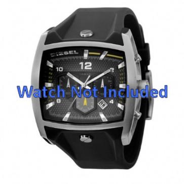 Cinturino per orologio Diesel DZ4165 Silicone Nero 33mm