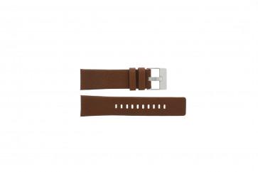 Diesel cinturino orologio DZ4296 Pelle Cognac 24mm