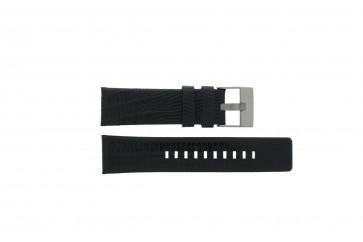 Diesel cinturino orologio DZ4372 Pelle Nero 24mm