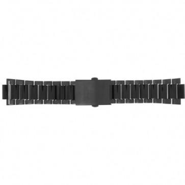 Diesel cinturino dell'orologio DZ5281 Acciaio inossidabile Nero 25mm