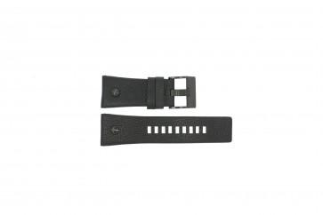 Diesel cinturino dell'orologio DZ7127 Pelle Nero 29mm