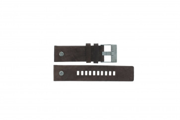 Diesel cinturino dell'orologio DZ7258 Pelle Marrone 24mm