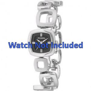 Cinturino per orologio Fossil ES1884 / ES1869 / ES1964 Acciaio 11mm