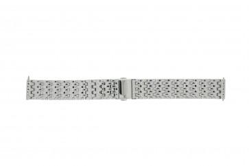 Fossil cinturino orologio ES-3712 Acciaio Argento 16mm