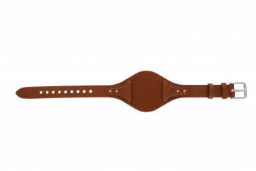 Fossil cinturino dell'orologio ES3837 Pelle Arancione 18mm