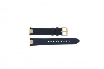 Cinturino per orologio Fossil ES3887 Pelle Blu 18mm