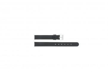 Cinturino dell'orologio C012 XL Pelle Nero 12mm + cuciture di default