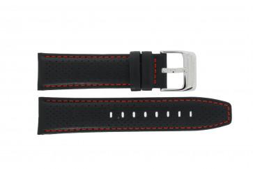 Cinturino per orologio Festina F16585-40 / F16585-7 / F16585-8 Pelle Nero 23mm