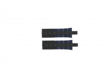 Cinturino per orologio Festina F16659/2 Acciaio/Silicone Blu 24mm