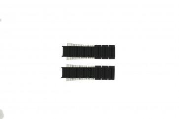 Cinturino per orologio Festina F16775/1 Acciaio/Silicone Nero 17mm
