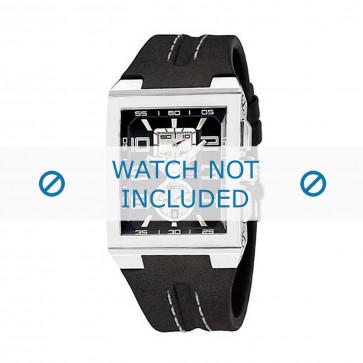 Cinturino per orologio Festina F16184/8 Pelle Nero 18mm