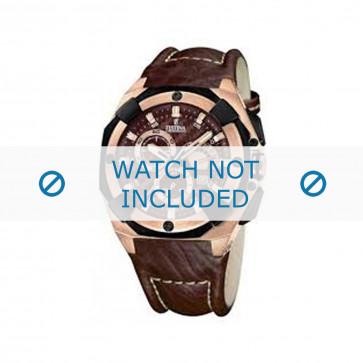 Cinturino per orologio Festina F16357-2 Pelle Marrone 21mm